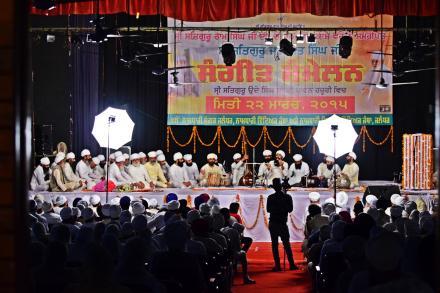 With the blessings of Sri Satguru Ji, Sangeet Sammellan witnessing huge gathering.