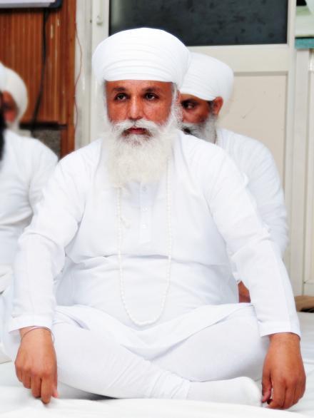 Sri Satguru Uday Singh Ji during Vaisakhi mela on 14 April 2015