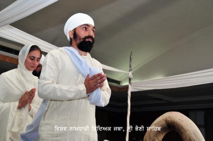 Anand Karaj during Vaisakhi Mela at Sri Bhaini Sahib on 14 April 2015