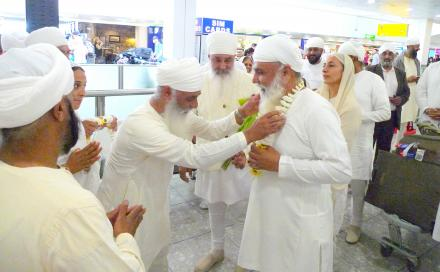 Sri Satguru ji blessing England Sadh Sangat on 21 August 2015