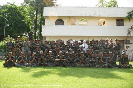 Army Men visit