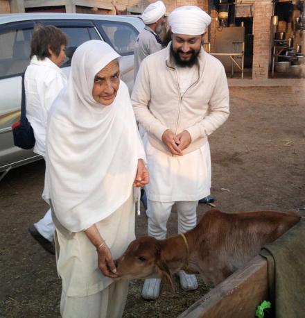 Mata Ji visits Tabela in Sri Bhaini Sahib