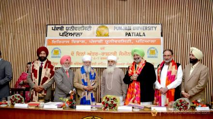 Seminar on Kuka movement, Punjabi University, Patiala, 06 Feb 2020