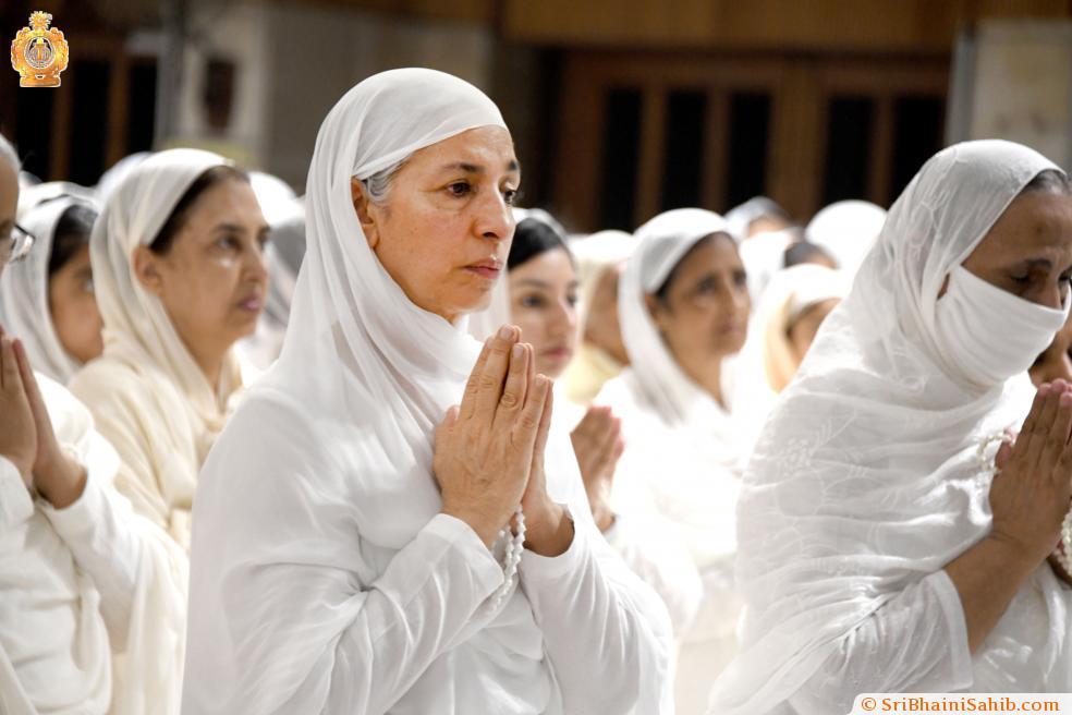 Jap paryog. Sri Bhaini Sahib, 16 September 2021