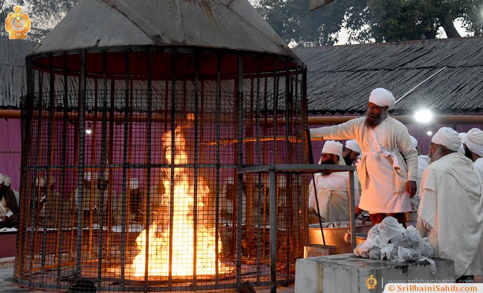 100 Havan, Gurudwara Sri Bhaini Sahib