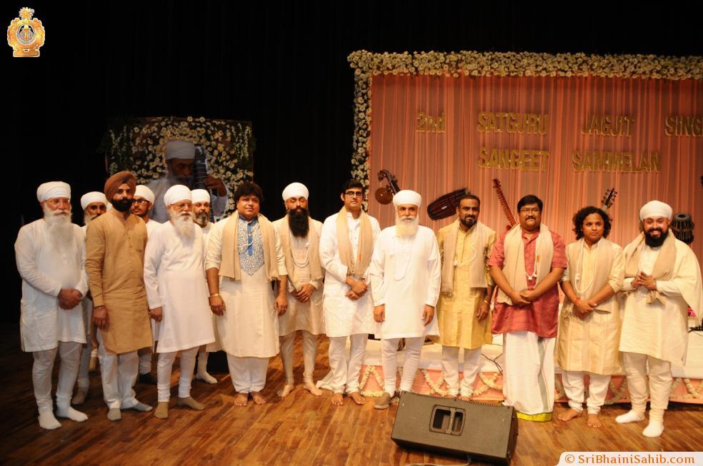 2nd Satguru Jagjit Singh Sangeet Sammelan, Delhi 23 April 2017
