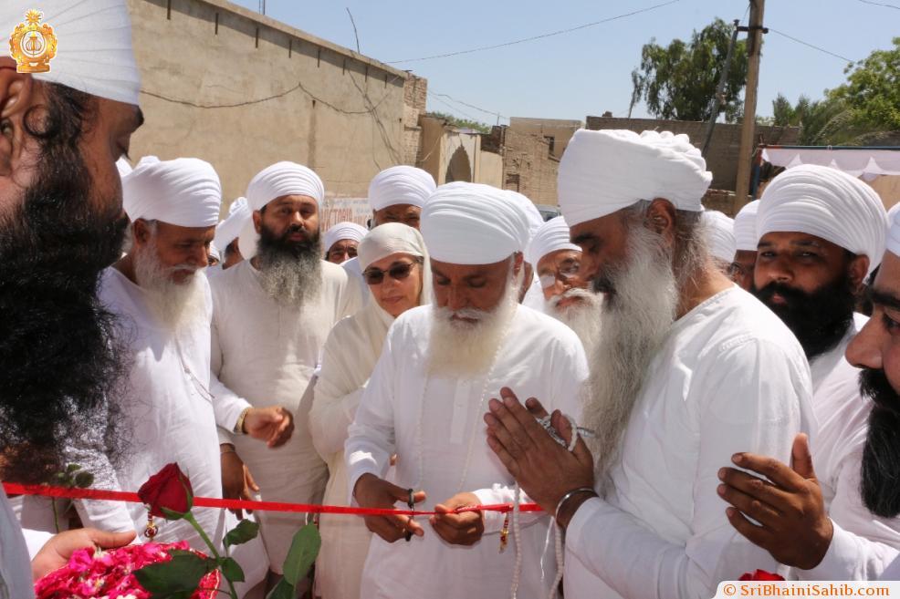 "Inauguration of ""Anand samriti mandir"", 22 April 2018, Gurusar"
