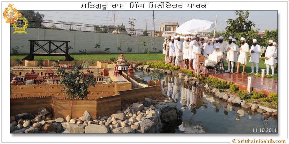 Satguru Ram Singh Miniature Park Inauguration 5